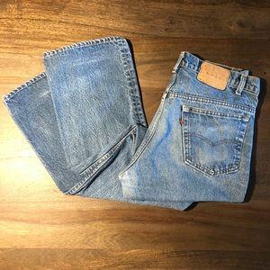 Vintage 1980s Levi's 517-0217 Jeans Size 35